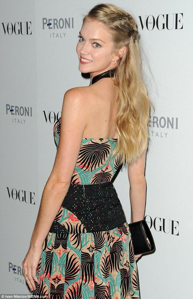 Lindsay Ellingson Shows Off Her Toned Figure At Vogue