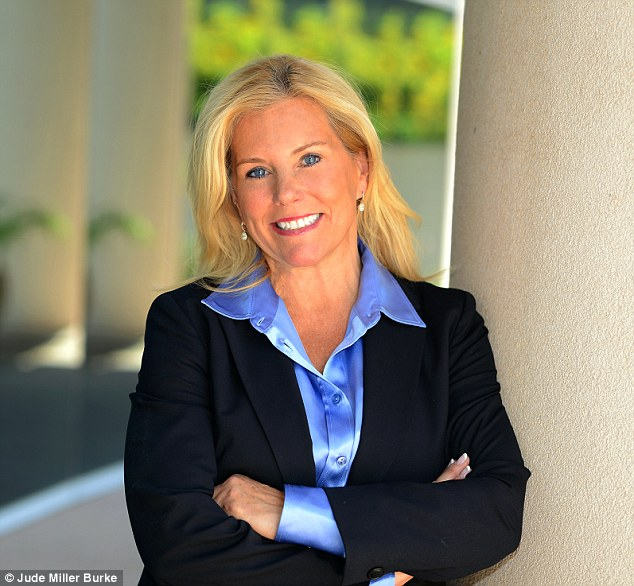 Dr Jude Miller Burker (pictured) author of The Millionaire Mystique: How Working Women Become Wealthy and How You Can, Too!, breaks down how working women can become wealthy for MailOnline