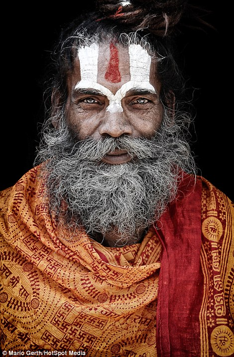 The Hindu holy men who shun home comforts in favour of a life spent in caves forests and