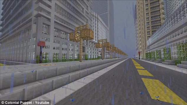 Duncan Parcells Spends 2 Years Crafting Titan City On
