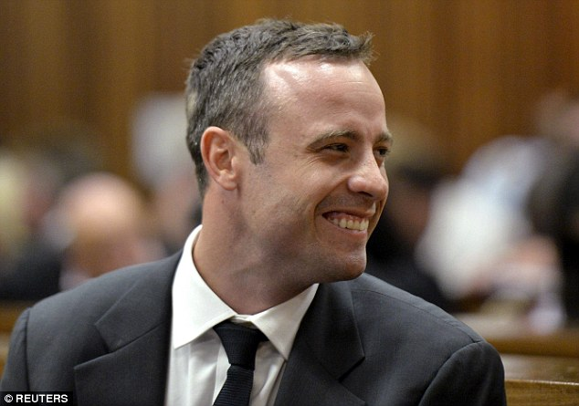 Reeva's sister Simone believes Oscar Pistorius has been 'acting' his distress in court, and killed her younger sister in a jealous rage on Valentine's Day last year
