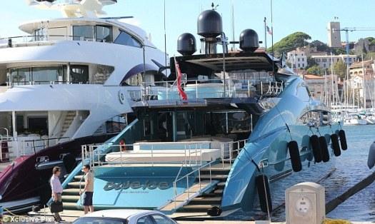 Rafael Nadal and girlfriend Xisca Perello go luxury yacht ...