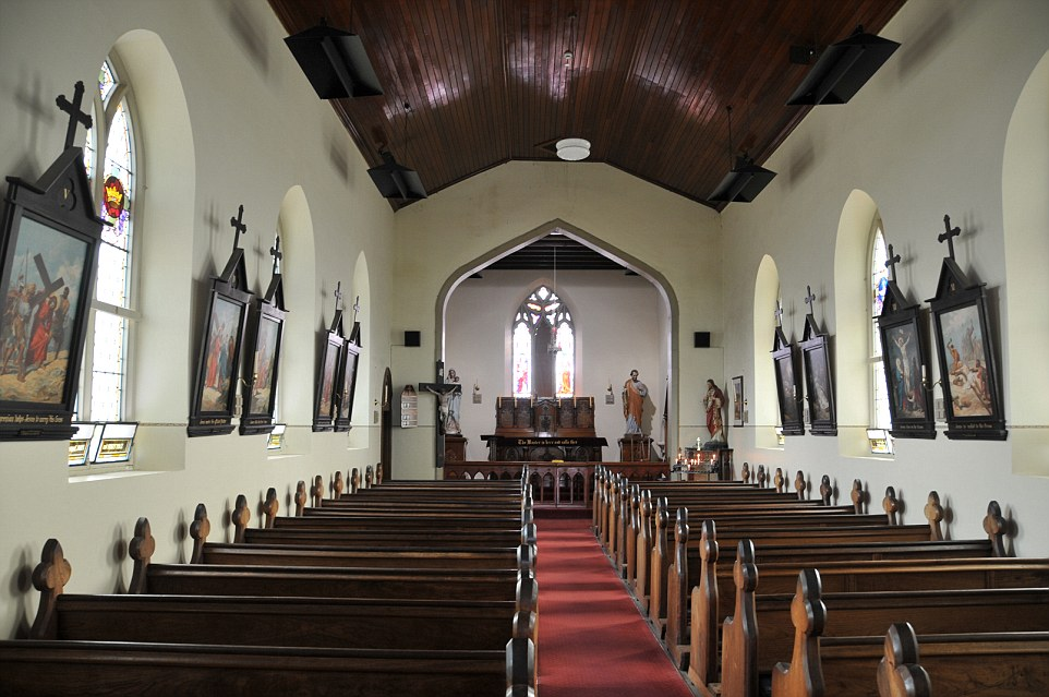 St. John's Roman Catholic Church, in Richmond is the oldest Catholic church still in use in Australia