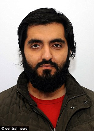 Terror case: Science teacher Jamshed Javeed, 30, has admitted two Syria-related terror offences revealed to police after a row with his family