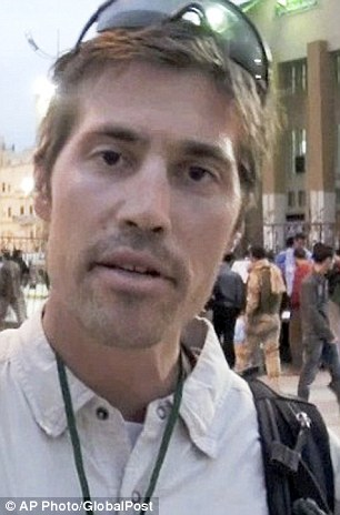 Tortured: James Foley, an American journalist, was waterboarded and hung upside down