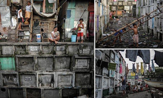 Manila children preparing for annual Filipino Day of the