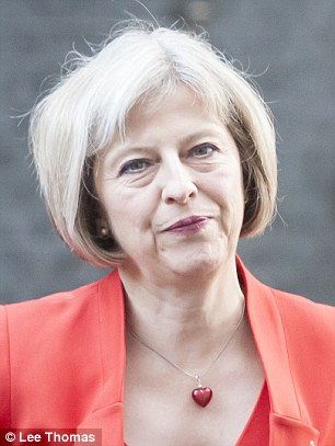Home Secretary Theresa May said the report showed the way police were dealing with the problem was 'not good enough'