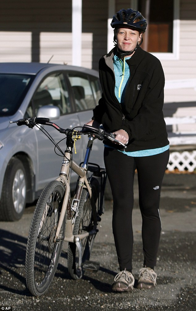 Nurse Kaci Hickox left her home on a rural road in Fort Kent, Maine, to take a bike ride with her boyfriend Ted Wilbur. Police are monitoring her, but can't detain her without a court order signed by a judge