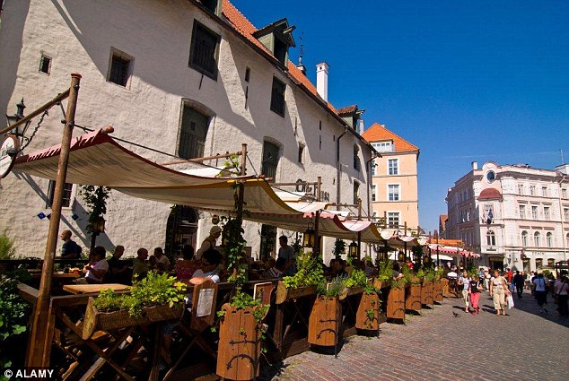 Tallinn in Estonia came in tenth place in the list of 47 European countries that were reviewed by Which? magazine