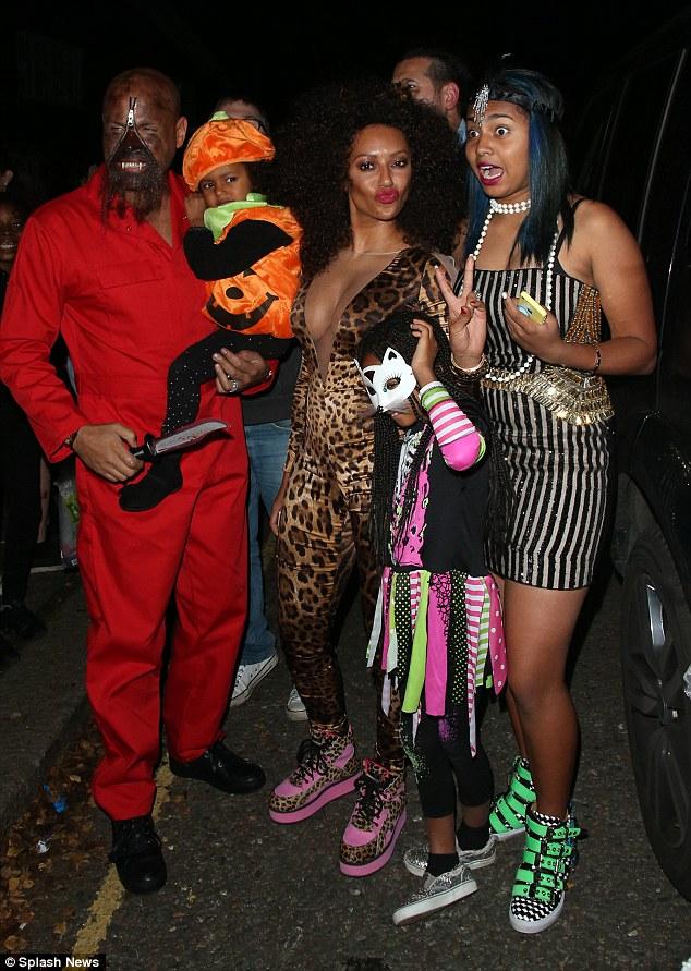 Is Mel B the first celebrity to wear a selfie Halloween