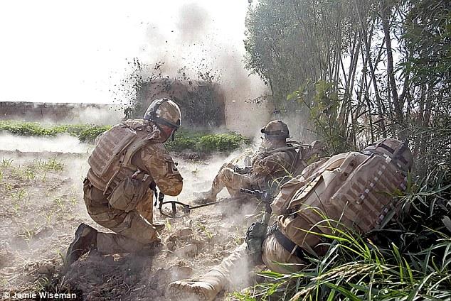 Las pruebas realizadas en el Centro de la Legión Real Británica para Lesiones explosiva estudios están destinados a conducir a mejoras en equipamiento militar y ayudar a las tropas heridas en Afganistán