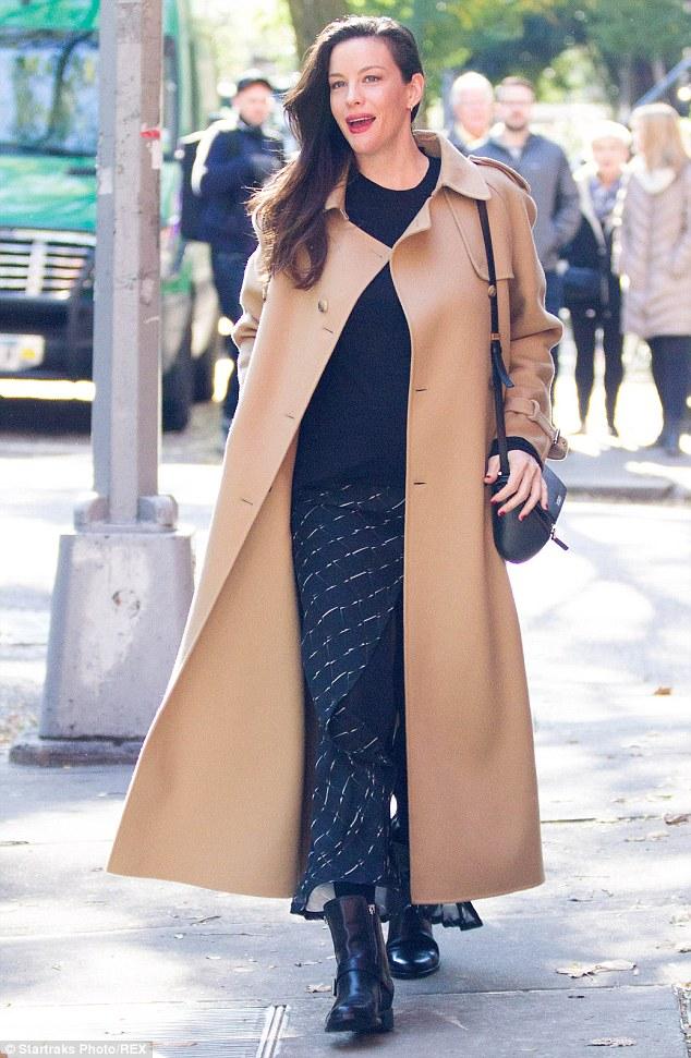Preston Long New York Camel Coat