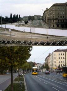 West-Berlin East Berlin Wall