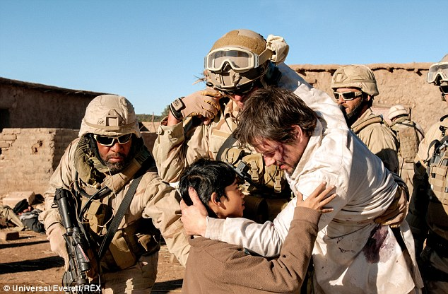 Lone survivor: O'Neill's SEAL team was featured in the Donnie Wahlberg movie about the only serviceman to return from a mission to kill a Taliban target in Afghanistan