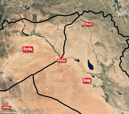 Attacks: Two strikes were reported, one at al-Qaim, near the Syria-Iraq border, and a second in the ISIS stronghold of Mosul