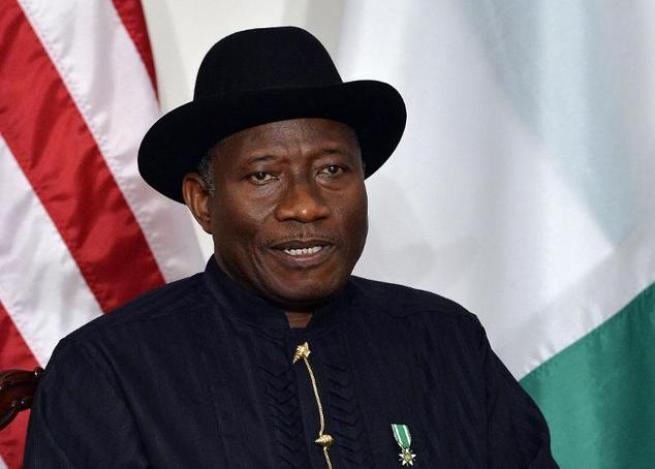Nigerian President Goodluck Jonathan's supporters have pooled resources to stump up $132,000 for presidential nomination form