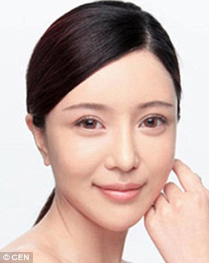 Zhang Cher is a 27-year-old Chongqing woman and aspiring singer after surgery