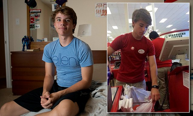 Alex from Target is getting death threats and is afraid to go out in public | Daily Mail Online