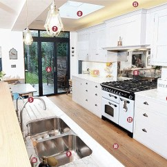 Ikea Kitchen Cupboards Marble Top Island The Families Who Spend Up To £170k On Their ...