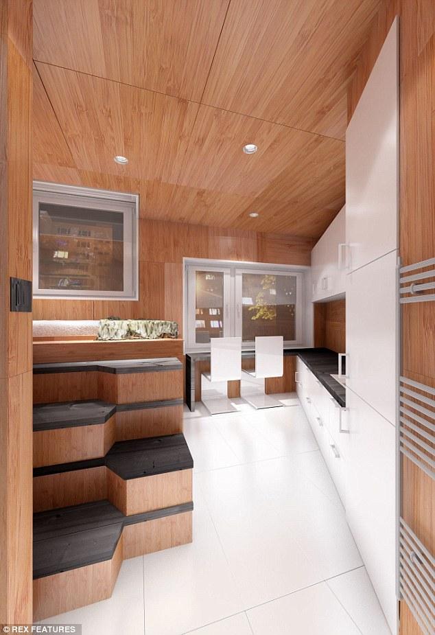 Designer Creates Houses For Homeless In Slovakia Using