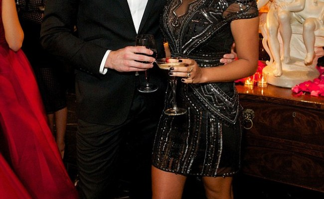Steve Jones With Wife Phylicia At Annual Gift Global Gala