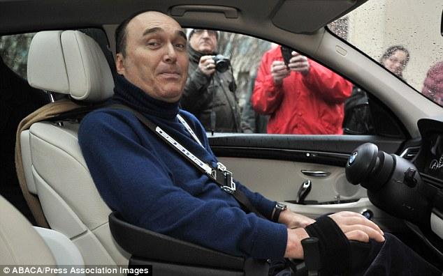 Michael Schumacher is paralysed wheelchairbound and