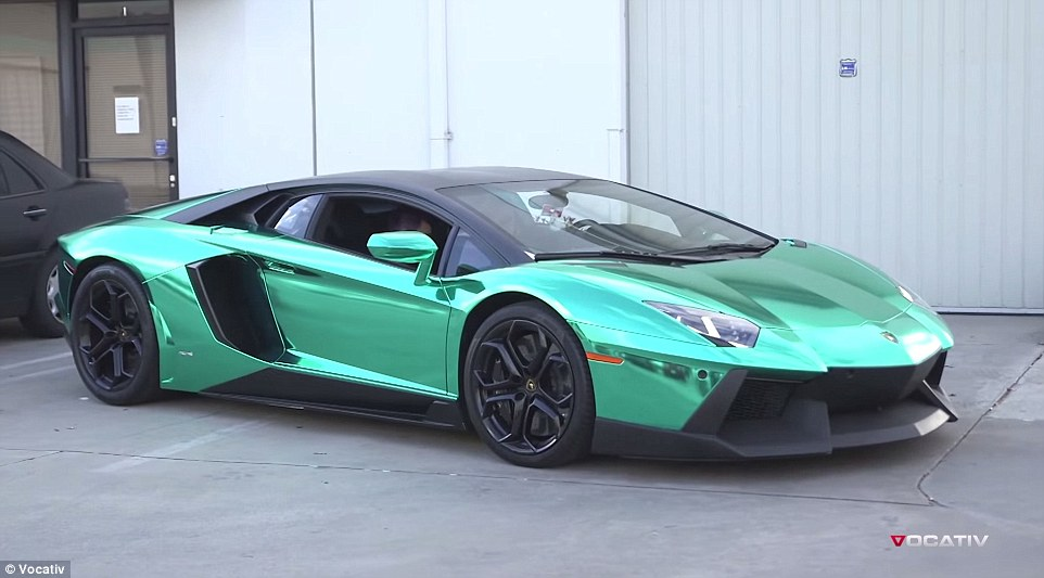 As wealth among China's elite appears to be growing at an astonishing pace, many billions of dollars are being taken sent of the country and ending up on California's roads in cars such as this Lamborghini Aventador, which starts at $397,500