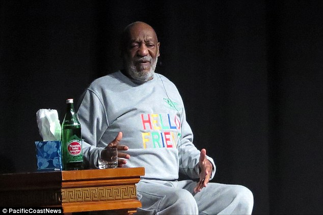 Bill Cosby appeared on stage in Barbados on Thursday night for the first time since nine women came forward this month to claim they had been attacked by the star