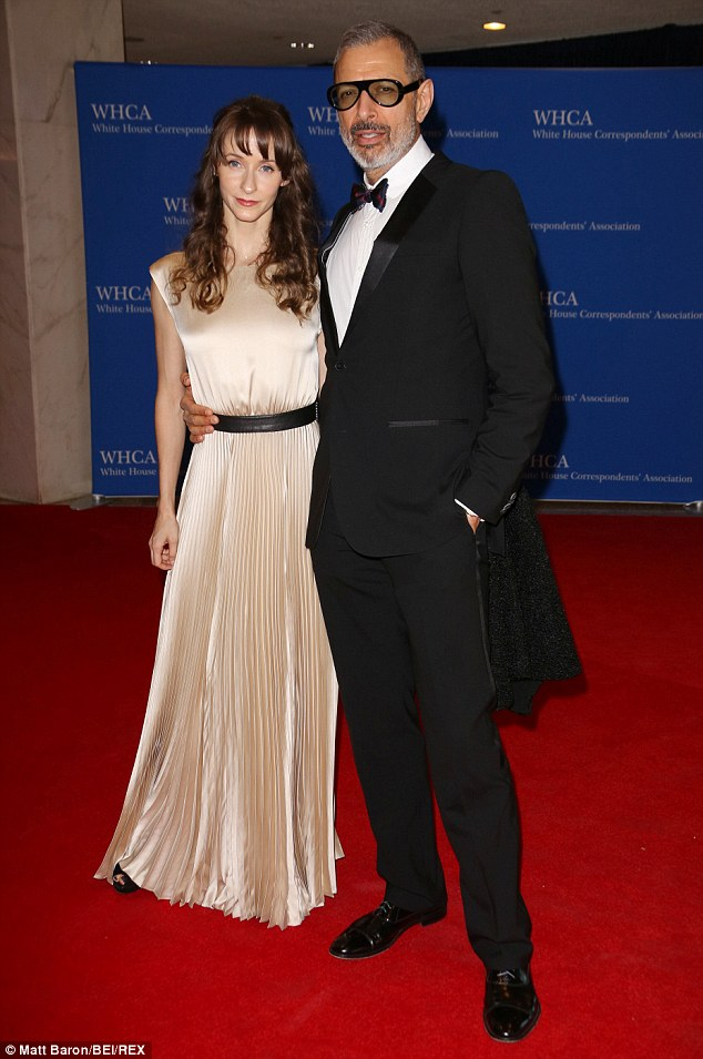 Jeff Goldblums Wife Emilie Livingston Shares First Photo