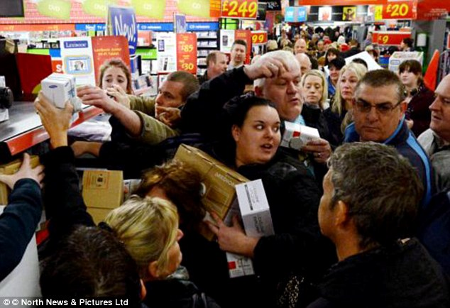 Get Ready For Black Friday Daily Mail Online