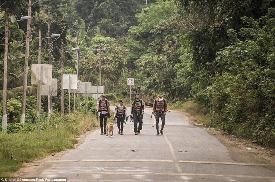 Grueling: The race takes teams of four around ten days, and involves continuous hiking, trekking, mountain biking and kayaking