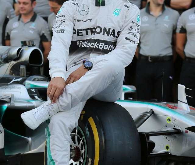 Calm And Composed Hamilton Appeared Relaxed Just Hours Before The Start Of The Abu Dhabi
