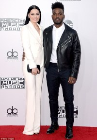 Jessie J and boyfriend Luke James make red carpet debut at ...