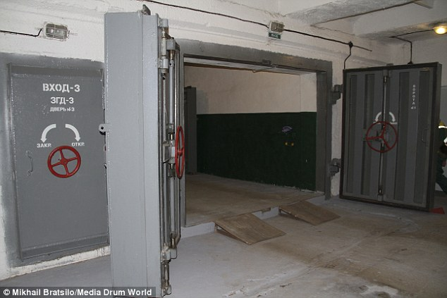 Inside Moscows Site 1 nuclear bunker designed to hold