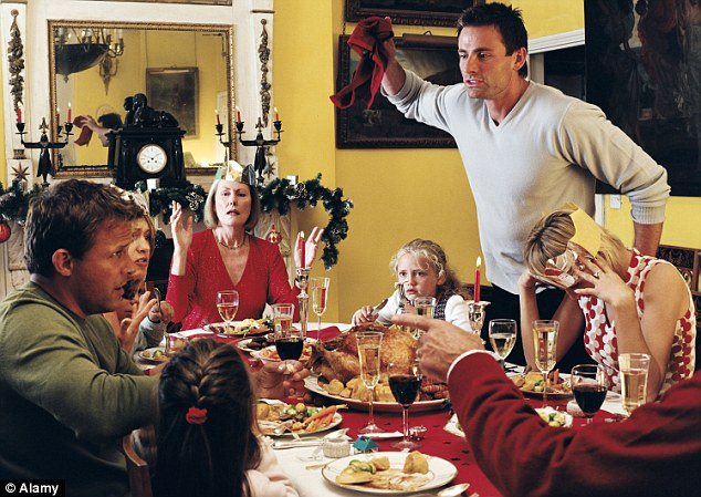 Arguments often flare around the dinner table at Christmas but these rows appear to make children better at dealing with disagreements in later life by changing the way their bodies respond to stress
