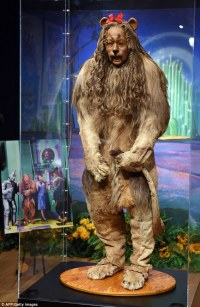 Cowardly Lion costume from The Wizard of Oz sells for $3m ...