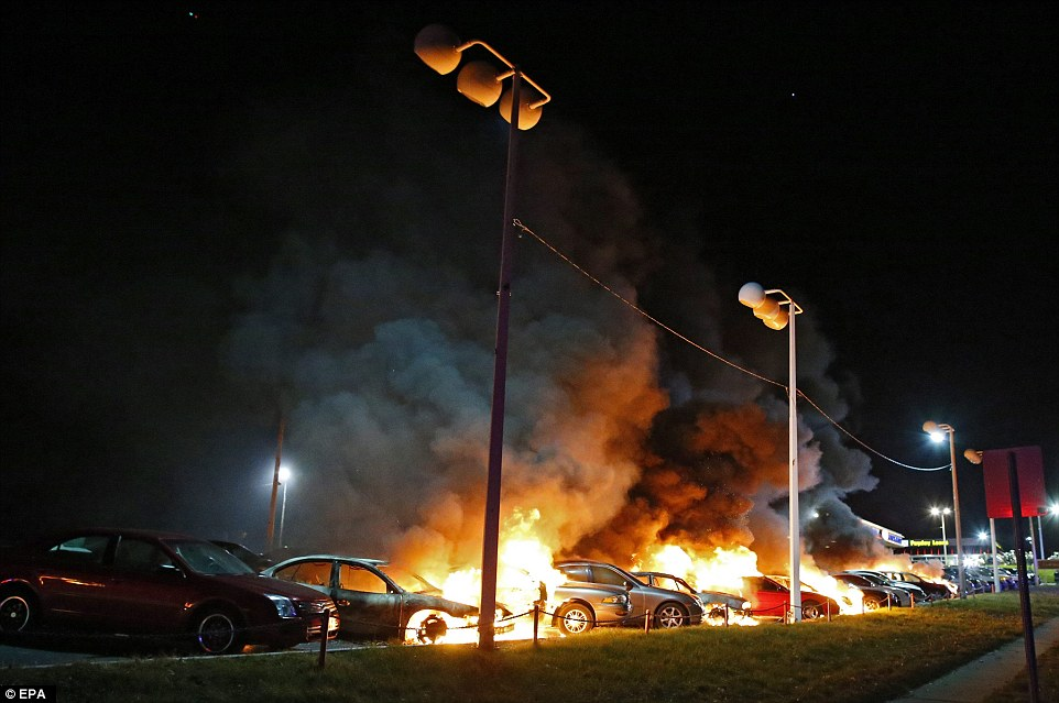 Ferguson Missouri burns as Darren Wilson WILL NOT face charges  Daily Mail Online