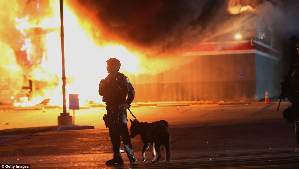 So far during the Ferguson protests there have been 29 arrests, 13 injuries – and no fatalities, with police saying they have not fired any shots