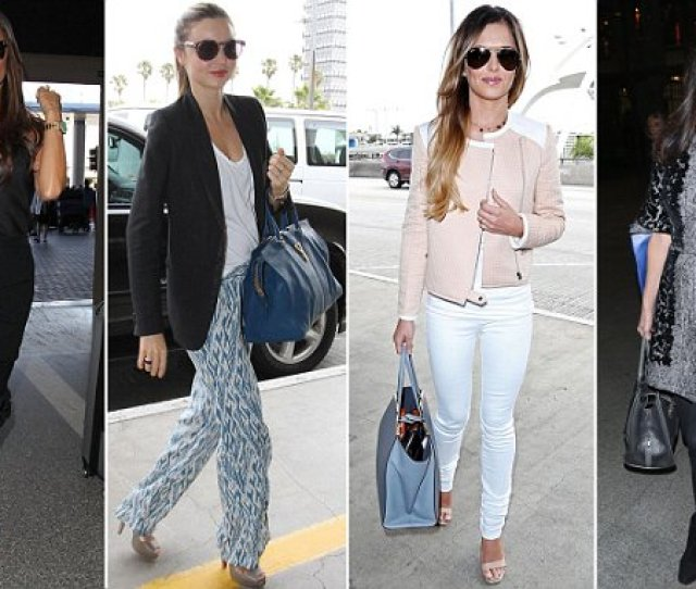 As Amal Clooney Rocks Airport Chic Femail Looks At The Best Dressed Jet Setters Daily Mail Online