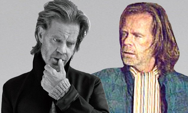 William H Macy looks nothing like Shamelesss Frank Gallagher in Michigan Avenue  Daily Mail