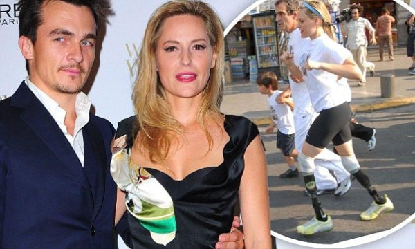 Homeland39s Rupert Friend engaged to Paralympic athlete