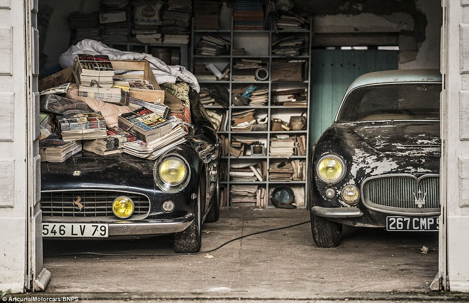 Treasure trove of classic cars worth 12M found on French