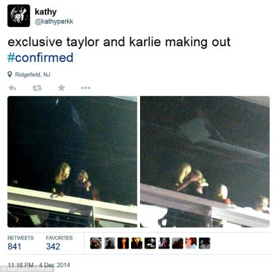 She's Into Girls Now? Taylor Swift Makes Out WIth BFF Karlie Kloss