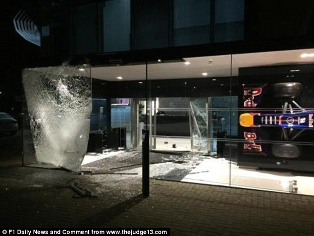 Red Bull Devastated After Burglars Smash Their Way Into
