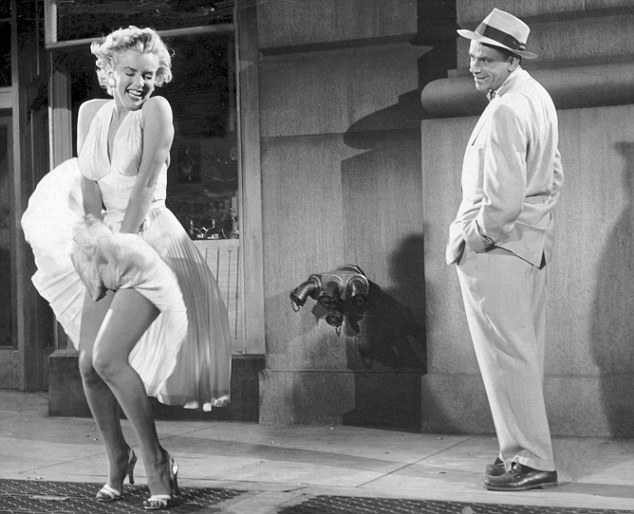 Image result for marilyn monroe the seven year itch