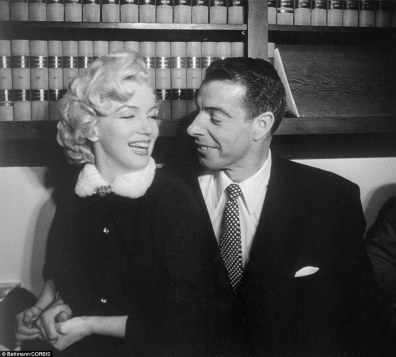 Image result for dimaggio and marilyn