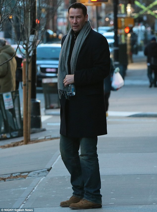 Keanu Reeves Opts For The Stylish Gentleman Look In New