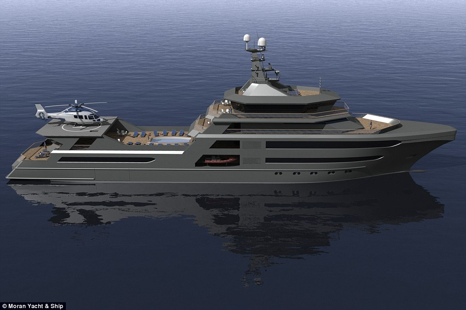 Inside The Palmer Johnson World Superyacht Complete With Its Own SUBMARINE Daily Mail Online