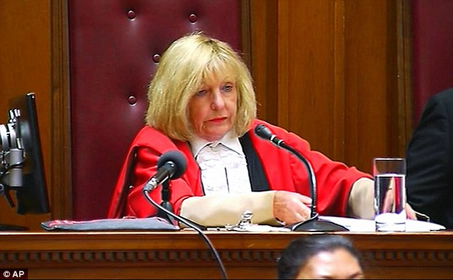 Judge: Dewani was found not guilty after Cape Town High Court judge Jeanette Traverso (pictured) ruled that the prosecution's case did not have sufficient evidence to convict him