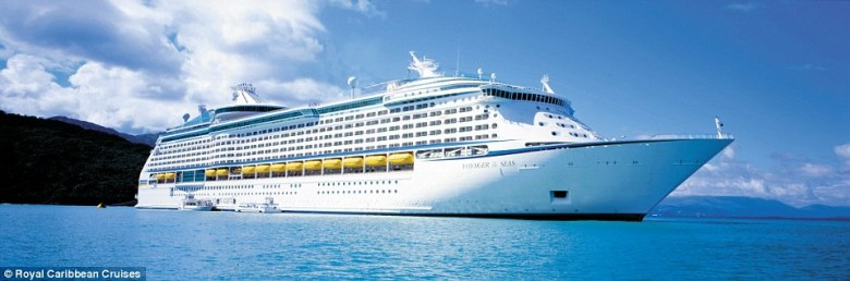 Royal Caribbean's Voyager of the Sea set sail for the first time since its $80million makeover for a 14-day journey and arrived in Sydney on Monday